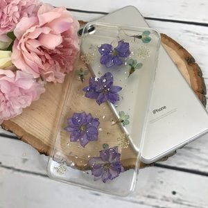 Accessories - Pressed Flower iPhone 6+/7/8/7+/8+X/XS/XR/XS Max